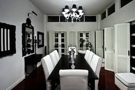 Chandelier With Black Shade And Crystal Drops Chandelier With Black Shade And Crystal Drops Interior Design Ideas