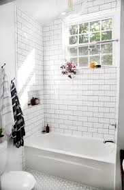 subway tile in bathroom ideas best 25 white subway tile bathroom ideas on white subway