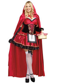 spirit halloween costumes 2016 women u0027s plus size little red costume