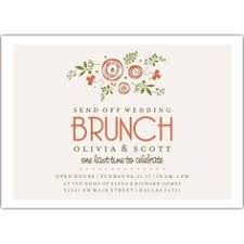 rehearsal brunch invitations continue the celebration at a post wedding brunch invite your