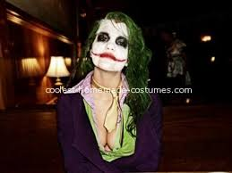 Joker Costume Halloween Coolest Female Joker Homemade Costume Female Joker Costume