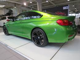bmw m4 in java green photo gallery