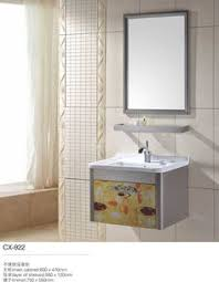 Unfinished Bathroom Cabinets And Vanities by Stainless Steel Bathroom Vanity And Sink Combo 30 Inch Modern
