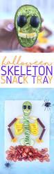 vegetable skeleton halloween spooky skeleton snack tray lifestyle blog