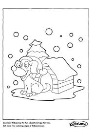 dog house coloring pages christmas coloring pages free printables for your kids kidloland