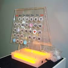 new design diy acrylic desk calendar stand buy acrylic desk