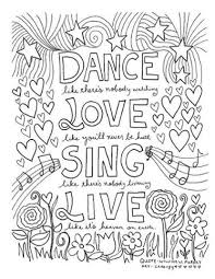 craftsy coloring pages dream quote craftsy