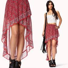 20 off forever 21 dresses u0026 skirts forever 21 flounced high low