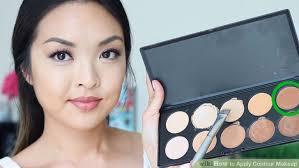 image led apply contour makeup step 3