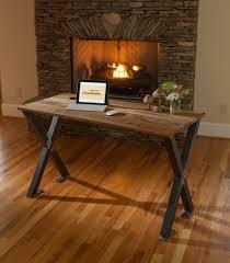 Rustic Modern Desk by Blowing Rock Woodworks