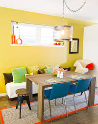 Colorful Kitchen Table by Paint Colors That Match This Apartment Therapy Photo Sw 2927