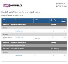 woocommerce print invoices u0026 packing lists woocommerce docs