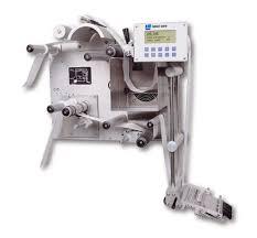 manual label applicator machine 3155 wipe on label applicator label aire