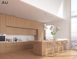kitchen excelleent minimalist light wood kitchen block cabinet