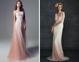 ombre wedding dress dip dye ombre wedding dresses ombre wedding dress wedding