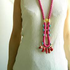 long boho necklace images Long boho necklace rope jewelry stone from sakurapink on etsy jpg