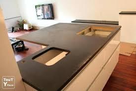 plan de travail cuisine effet beton plan de travail beton superb prix beton cire plan de travail cuisine