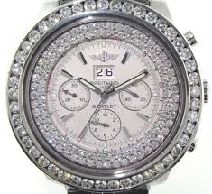 breitling bentley diamond custom breitling for bentley u2014 abbot u0026 rinehart jewelers