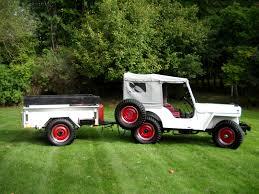 bantam jeep trailer 1950 cj 3a u0026 trailer macedonia oh status unknown ewillys