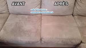 nettoyage de canapé comment nettoyer un canapé en microfibres facilement