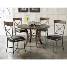 Grey Dining Chairs Hillsdale Furniture Cameron Grey Metal X Back Dining Chair