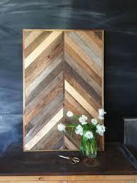 wall decor ideas barnwood pine geometric wood wall