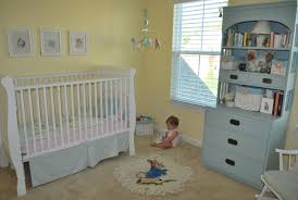 before after a colorful nursery in southern california family hand