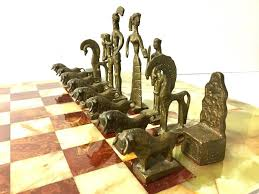 unique chess sets for sale unique chess set in the style of frededrick weinberg on oversized
