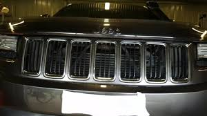 jeep grand cherokee front grill lower facia removal my14 jeep grand cherokee youtube