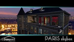 Home Of The Eifell Tower Second Life Marketplace Rebourne Paris Skybox Furnished Grand