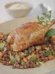 cuisiner une perdrix perdrix aux lentilles recettes de cuisine