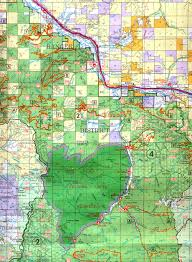 Colorado Game Unit Map by Buy And Find Montana Maps Bureau Of Land Management Deer