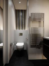 modern japanese bathroom design for small spaces with glass door