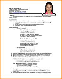 Architect Resume Samples Architect Resume Sample Philippines Virtren Com