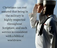 bible christian serving military