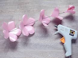 How To Make Flower Hair Clips - how to make paper roses how tos diy