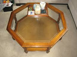 home goods folding table coffe table wood coffee table glass top upholstered folding shabby