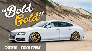 lexus rotiform accuair audi s7 feat rotiform hurs bold gold youtube