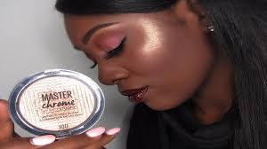 Maybelline Master Chrome shine in a way this summer with maybelline s new master chrome