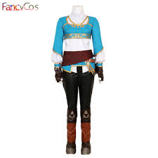 Zelda Halloween Costumes Aliexpress Buy Halloween Women Legend Zelda Breath