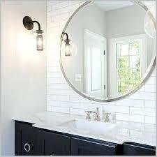 round bathroom mirrors bathroom mirror design ideas brilliant