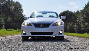 lexus york road road test review 2014 lexus is350c f sport convertible coupe