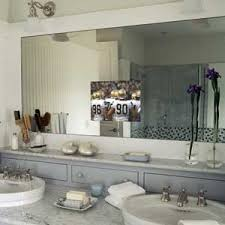 Bathroom Mirror With Tv by Television In The Mirror In The Bathroom Vanity Bathroom Mirror