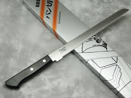 ebay kitchen knives japanese kitchen knives masahiro bread knife stainless steel 24cm