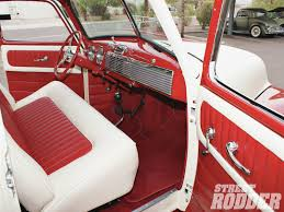 Chevy Truck Interior Project Shop Truck 1947 Chevrolet Interior Rod Network