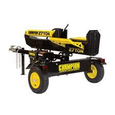champion power equipment 27 ton 224cc log splitter 100424 the