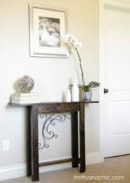 Small Entry Table by Thrifty And Chic Diy Projects And Home Decor
