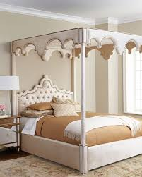 How To Decorate A Canopy Bed Haute House William Canopy Bed