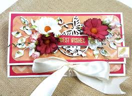 Wedding Wishes Envelope Vrenchanted Color Craft U0026 More Best Wishes Tri Fold Money