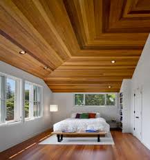 wood planks for ceiling modern home